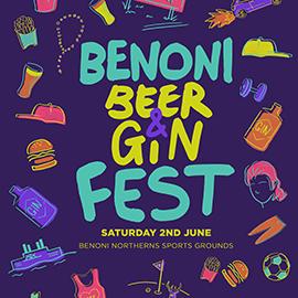 Benoni Beer & Gin Fest -Benoni Northerns - 2 June 2018