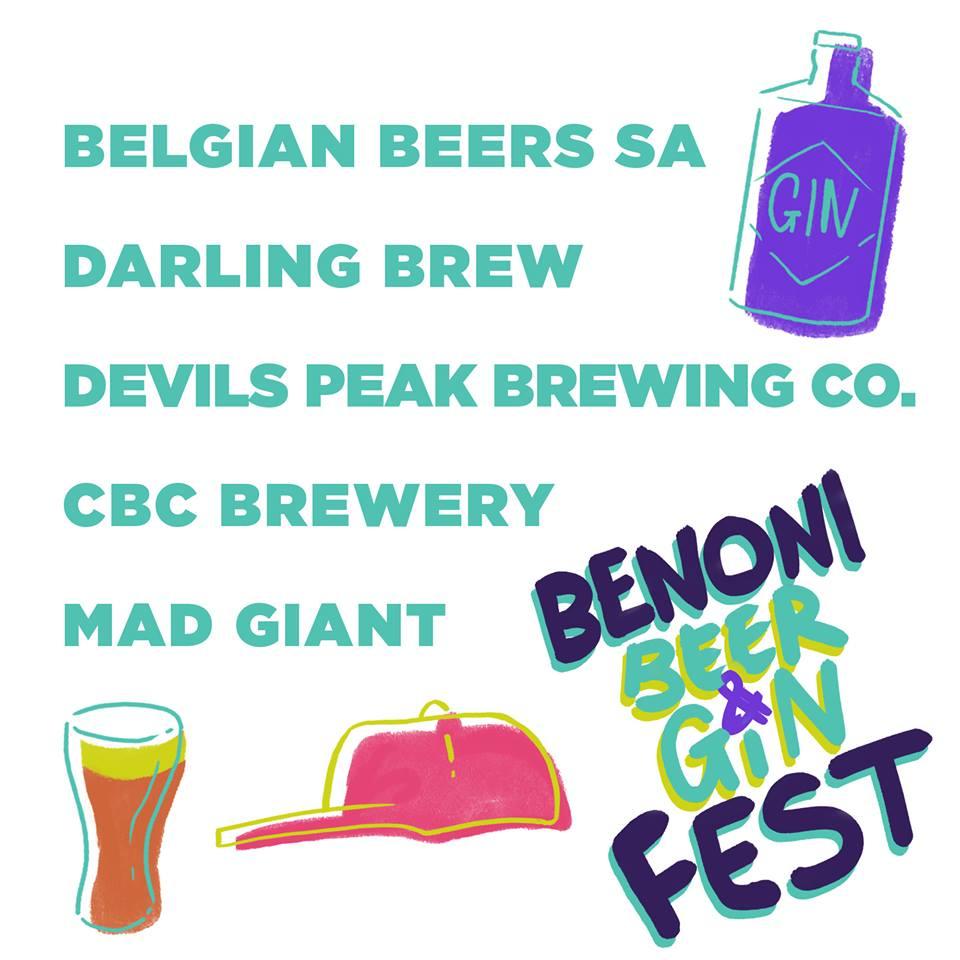 Benoni Beer & Gin Fest - Benoni Northerns - 2 June 2018