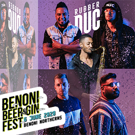 Rubber Duc LIVE at: Benoni Beer & Gin Fest 2020