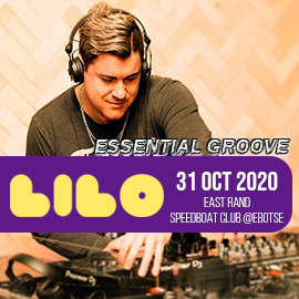 ESSENTIAL GROOVE Live at LILO - East Rand Speedboat Club - 31 Oct 2020