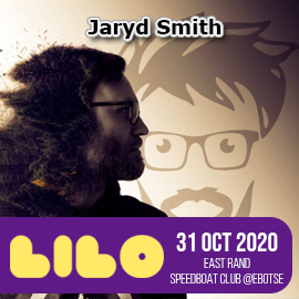 JARYD SMITH Live at LILO - East Rand Speedboat Club - 31 Oct 2020
