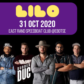 RUBBER DUC Live at LILO - East Rand Speedboat Club - 31 Oct 2020